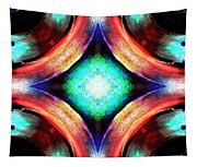 Symmetry Of Colors Tapestry