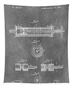 Syringe Patent Design Tapestry