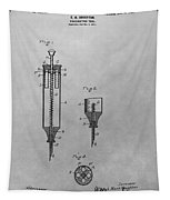Syringe Patent Drawing Tapestry