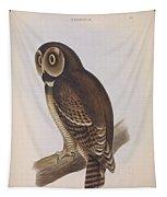 Syrnium Owl Tapestry