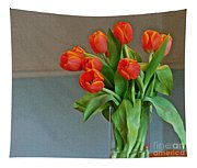 Table Top Tulips Tapestry