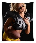 Tackle Or Flag Football Tapestry