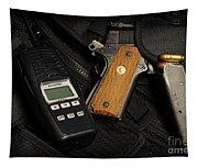 Tactical Gear - Gun  Tapestry