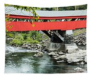 Taftsville Covered Bridge Vermont Tapestry
