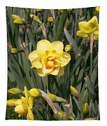 Tahiti Double Daffodil Tapestry