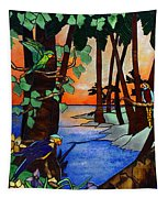 Tahiti Window Tapestry