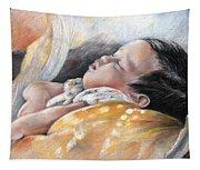 Tahitian Baby Tapestry