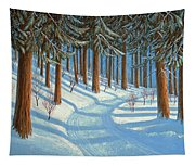 Tahoe Forest In Winter Tapestry