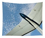 Tail Of The Airplane Tapestry