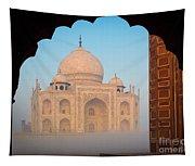 Taj Mahal Dawn Tapestry