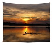 Take Off Forge Pond Tapestry