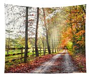 Take The Back Roads Tapestry
