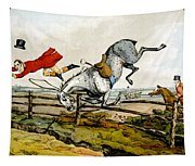 Taking A Tumble From Qualified Horses And Unqualified Riders Tapestry