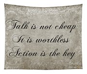Talk Is Not Cheap It Is Worthless - Action Is Key - Poem - Emotion Tapestry