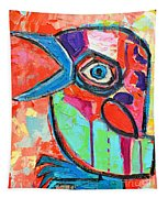 Talkative Baby Bird First This Spring Tapestry