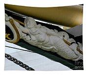 Tall Ship Tenacious Masthead Tapestry