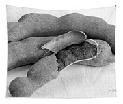 Tamarindo Whole Black And White Tapestry