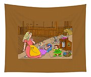 Tammy And Her Playmates Tapestry