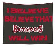 Tampa Bay Buccaneers I Believe Tapestry