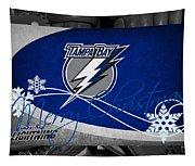 Tampa Bay Lightning Christmas Tapestry