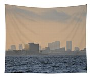 Tampa From The West Shore Tapestry