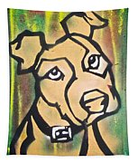 Tan Dog Tapestry