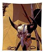 Tatanka Skull Tapestry