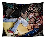 Tattoo Piercing Shop Tapestry