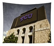 Tcu Stadium Entrance Tapestry