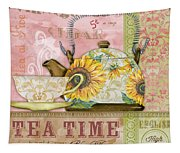 Tea Time-jp2579 Tapestry