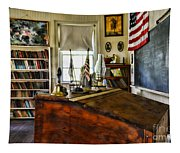 Teacher - Vintage Desk Tapestry
