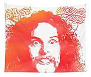 Ted Nugent Cat Scratch Fever Tapestry