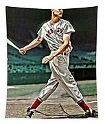 Ted Williams Painting Tapestry