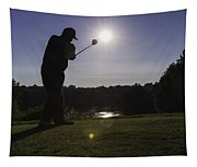 Teeing Off Tapestry