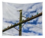 Telegraph Pole - Yesterdays Technology Tapestry