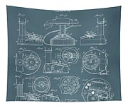 Telephone Patent Tapestry