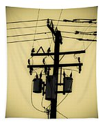 Telephone Pole 3 Tapestry