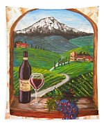 Temecula Red Tapestry