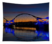 Tempe Town Lake At Sunset  Tapestry