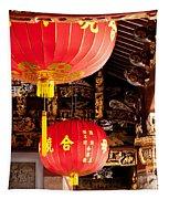 Temple Lanterns 02 Tapestry