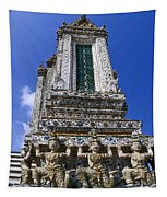 Temple Of Dawn Tower Tapestry