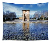 Temple Of Debod Tapestry