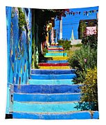 Templeman Street Valparaiso Chile Tapestry