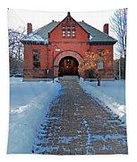 Tenney Memorial Library Newbury Vermont Tapestry