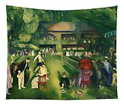 Tennis At Newport 1920 Tapestry
