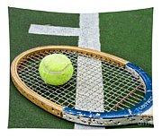 Tennis - Wooden Tennis Racquet Tapestry