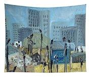 Tent City Homeless Tapestry