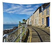 Terraced Cottages At Mousehole Tapestry
