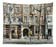 Terraced Houses In Kensington Tapestry