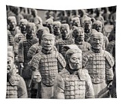 Terracotta Army Tapestry